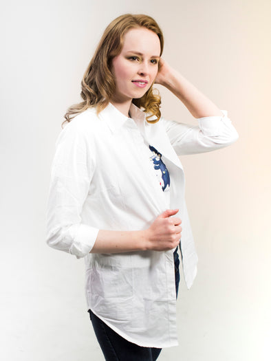 The Stacy Classic White Shirt