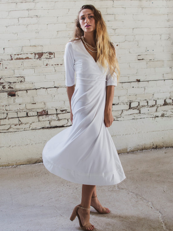 The Lyric E. White Dress