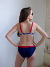 The Olivia Red White and Blue Bikini