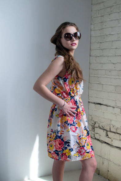 The Lynn Sundress in Floral