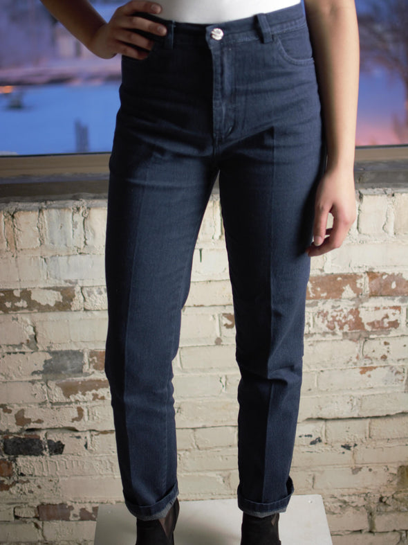The Susanne Straight Cut Jeans in Blue