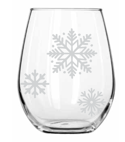 scattered-snowflakes-stemless-wine-glass-by-twine