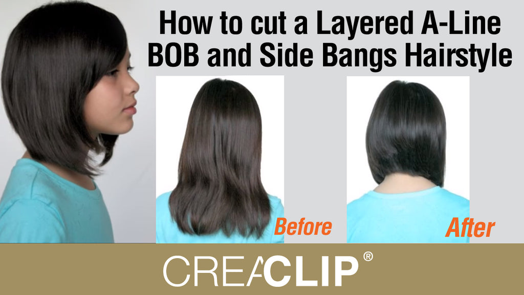 Layers A-Line Bob & Side Bangs