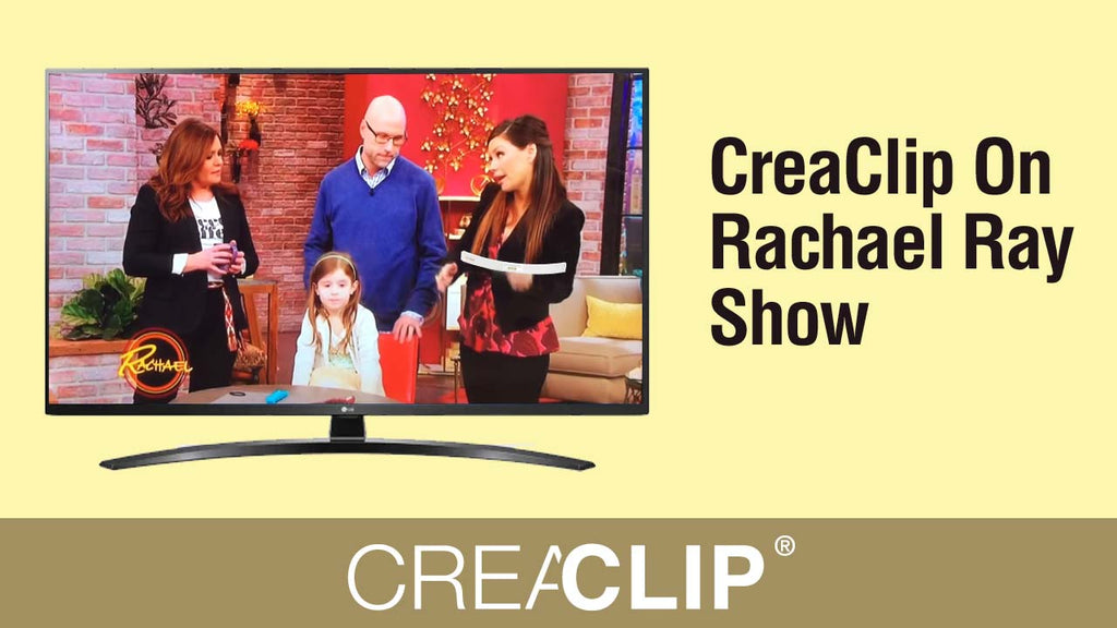 CreaClip On Rachael Ray Show Kids Cuts