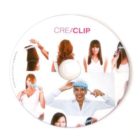 Original CreaClip Instructional DVD