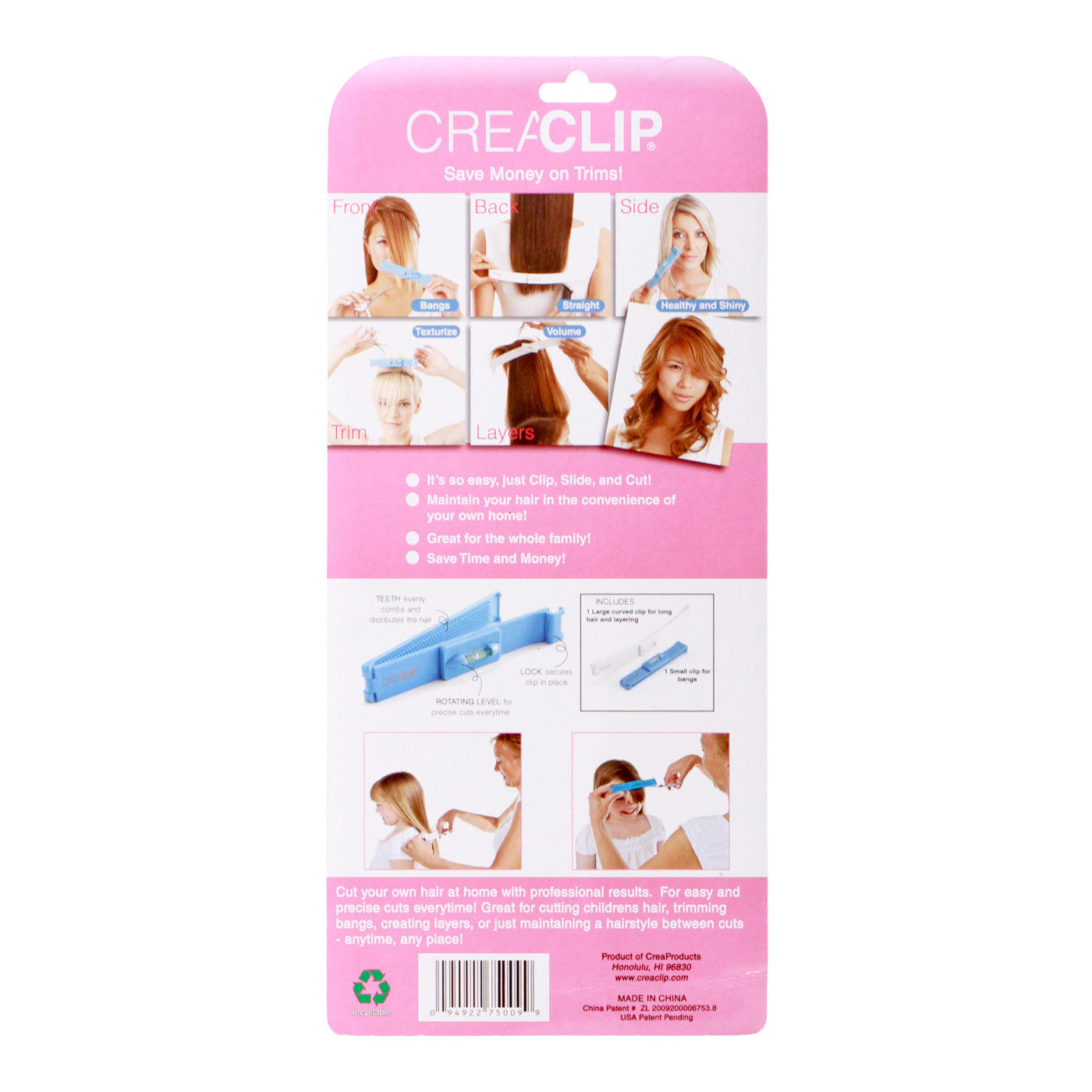 Original CreaClip Set - CreaProducts Inc.