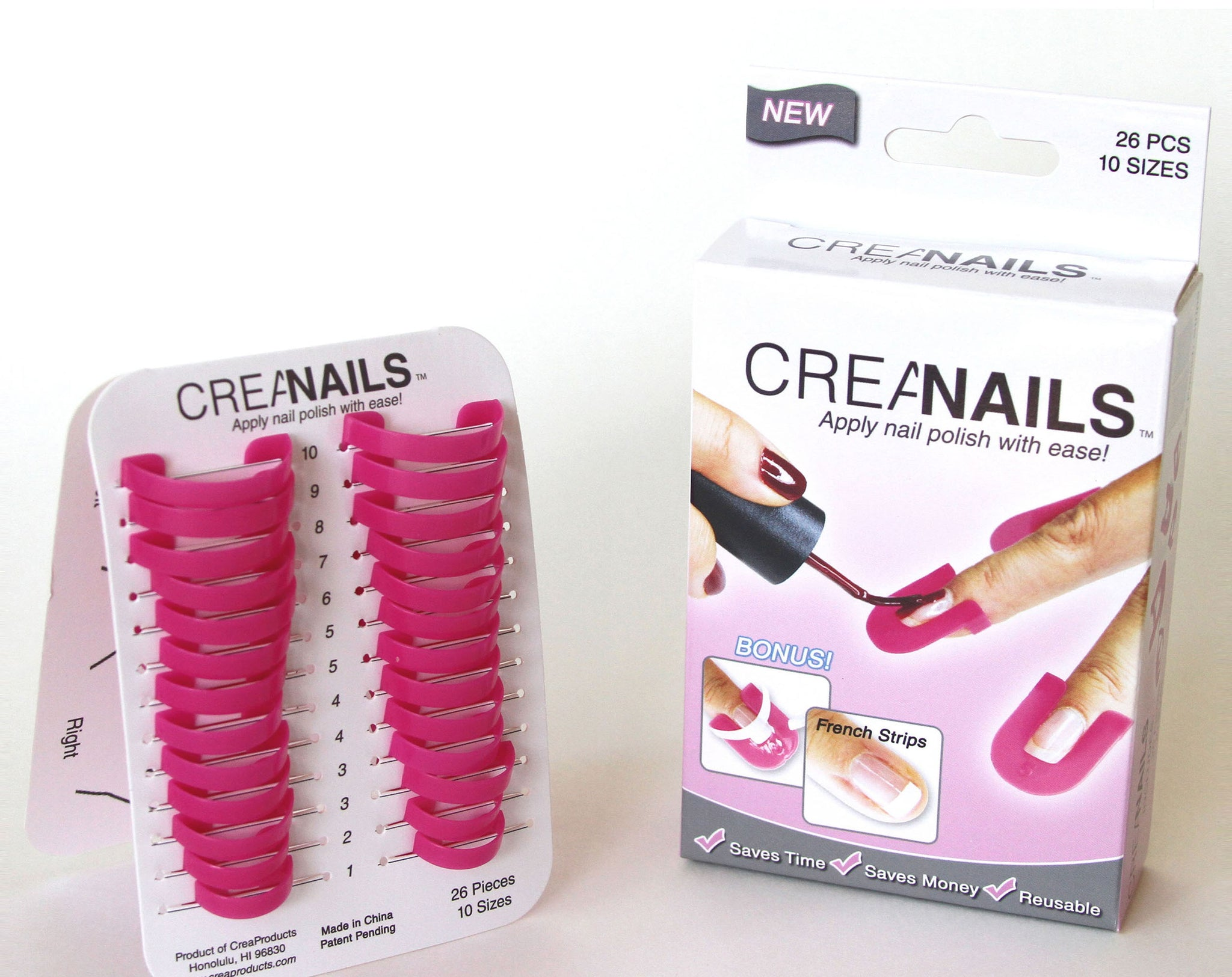 Original CreaClip Set & CreaNails Package - CreaProducts Inc.