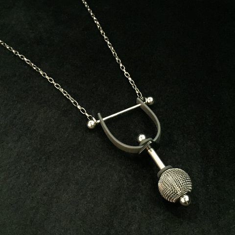 acrobat pendant necklace