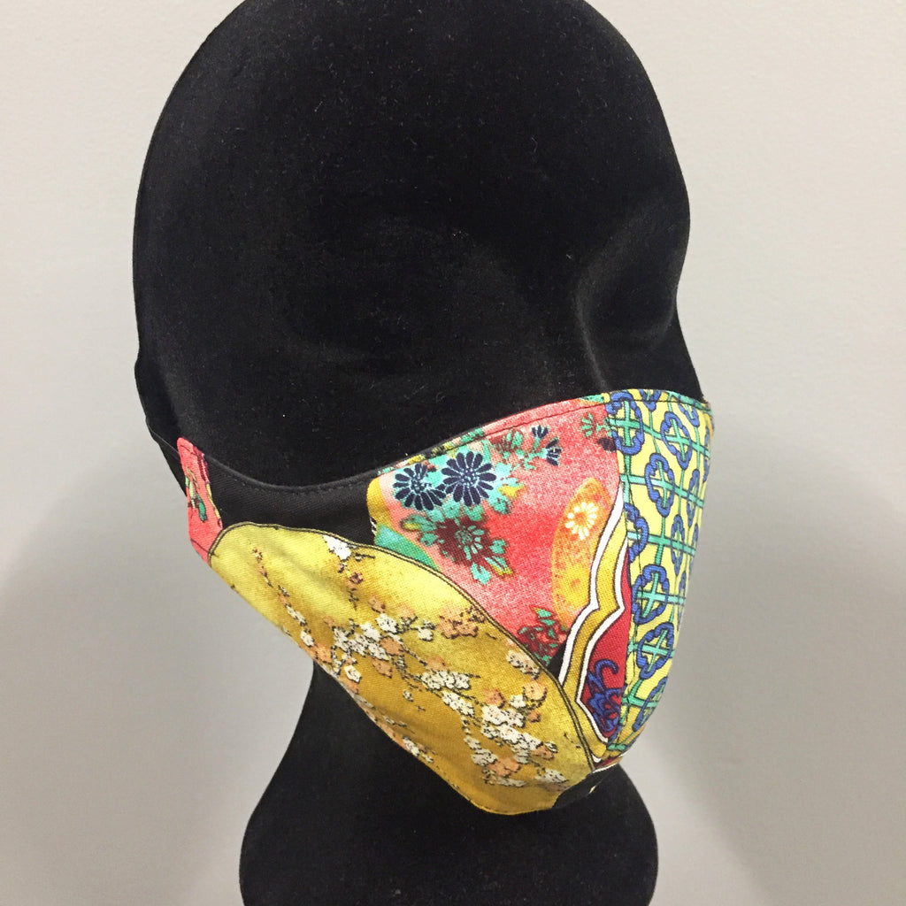 Cotton Fabric face Mask ( reversible)