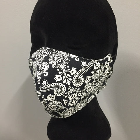 Cotton Fabric Face Mask (reversible)