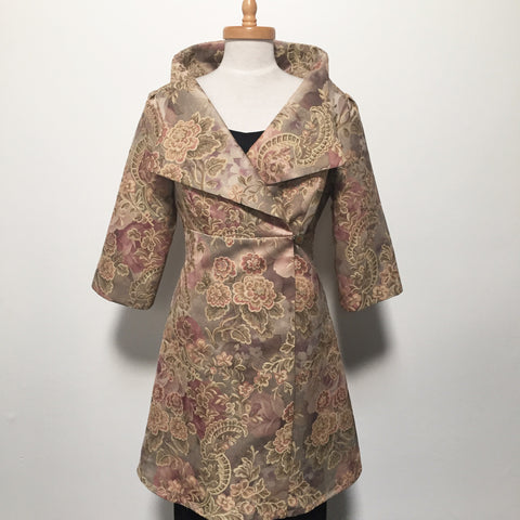 Eloise the label Nikita jacket in a floral tapestry. One of a kind in size large.