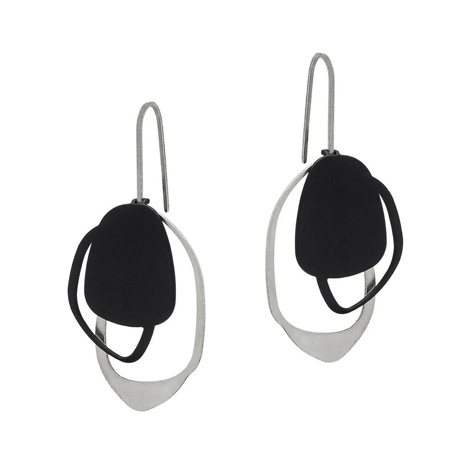 Stone drop earring by Insync