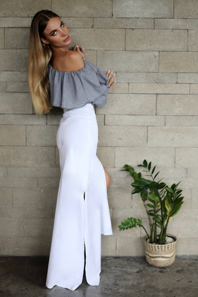 ADORE ASYMMETRIC SKIRT
