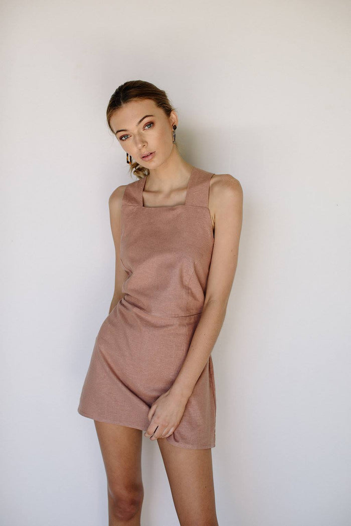 VALENTINA DRESS - BLUSH
