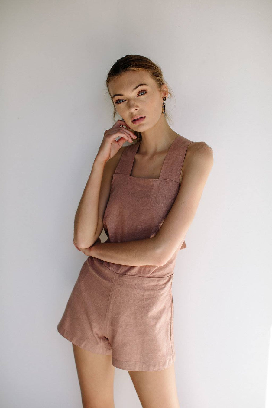 VALENTINA PLAYSUIT - BLUSH
