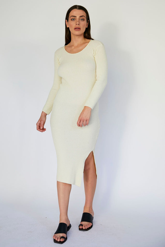 ARIANNE DRESS - IVORY