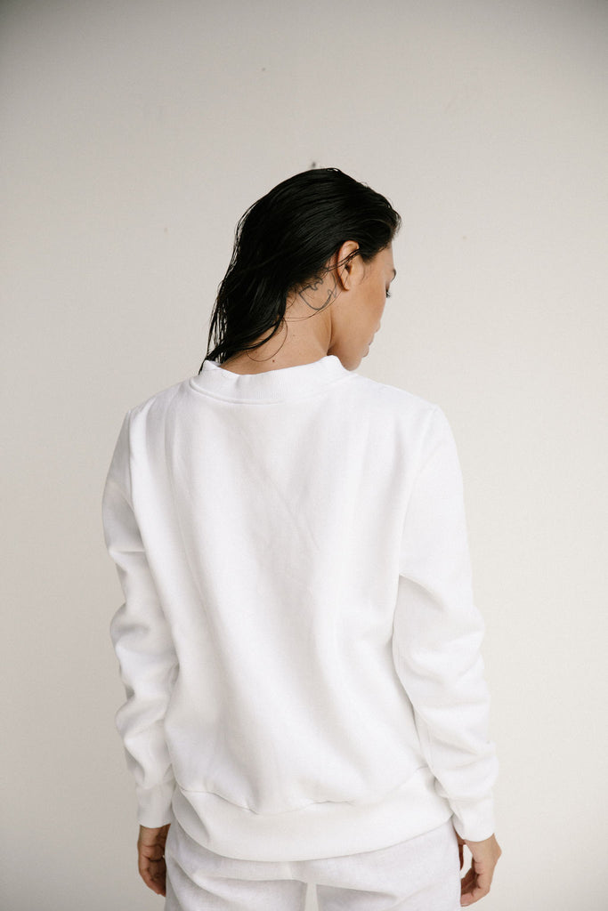ISABEL SWEATER - WHITE