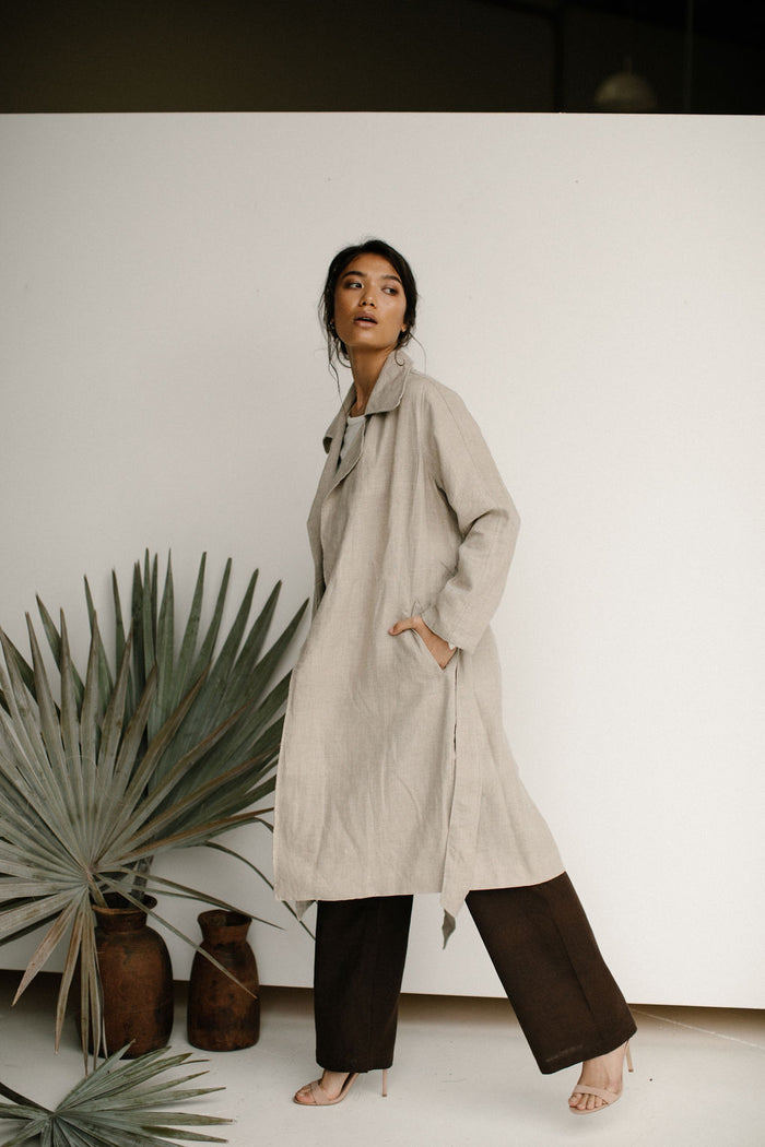 IRIS TRENCH COAT - OAT
