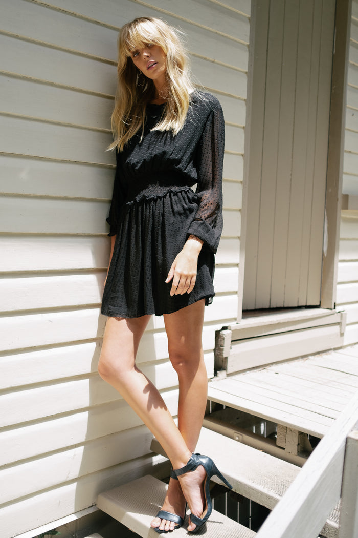 SOFIA DRESS - BLACK