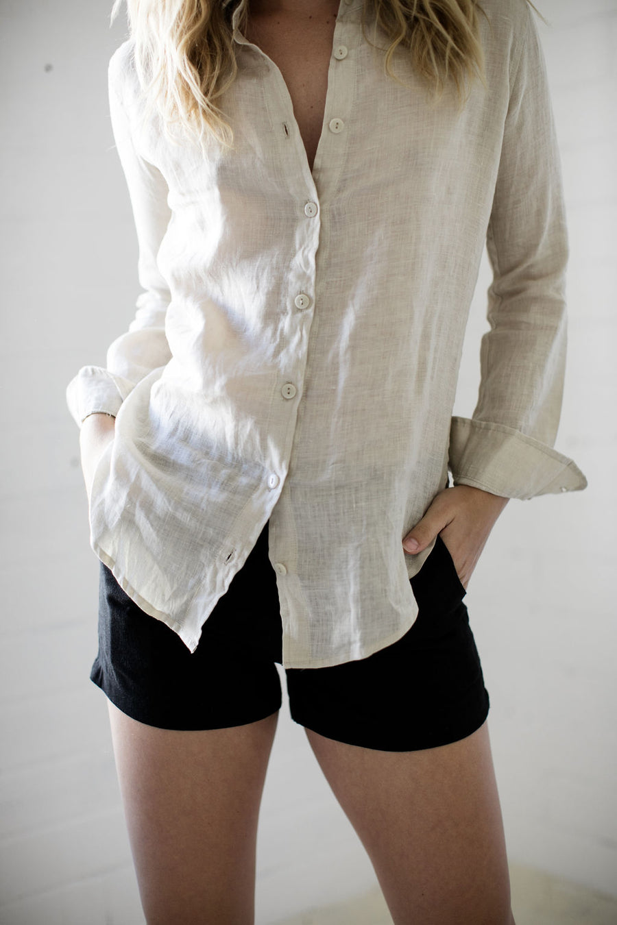 TIMELESS SHIRT - ALMOND