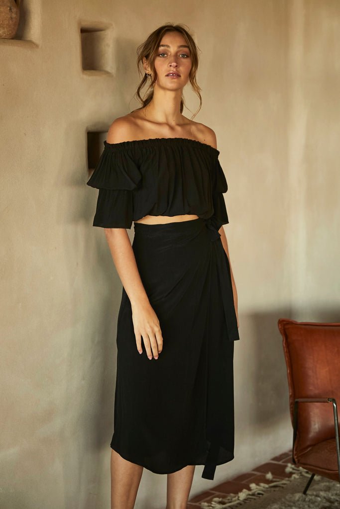 ISABELLA SKIRT - BLACK