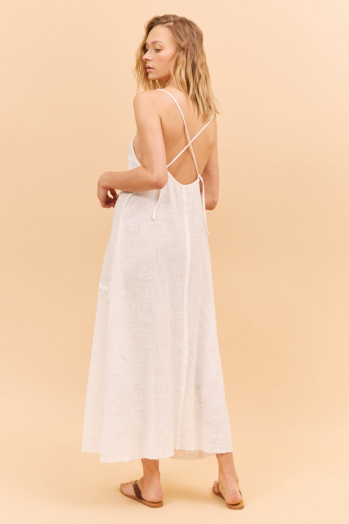 JASMINE DRESS - OFF WHITE