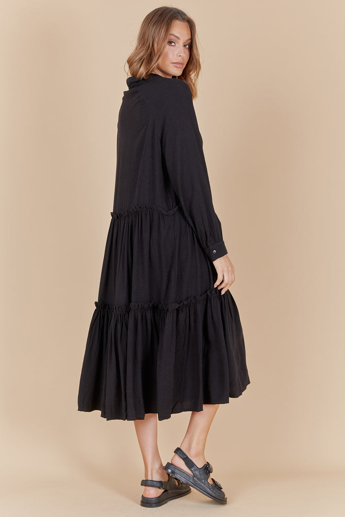 ISADORE DRESS - BLACK