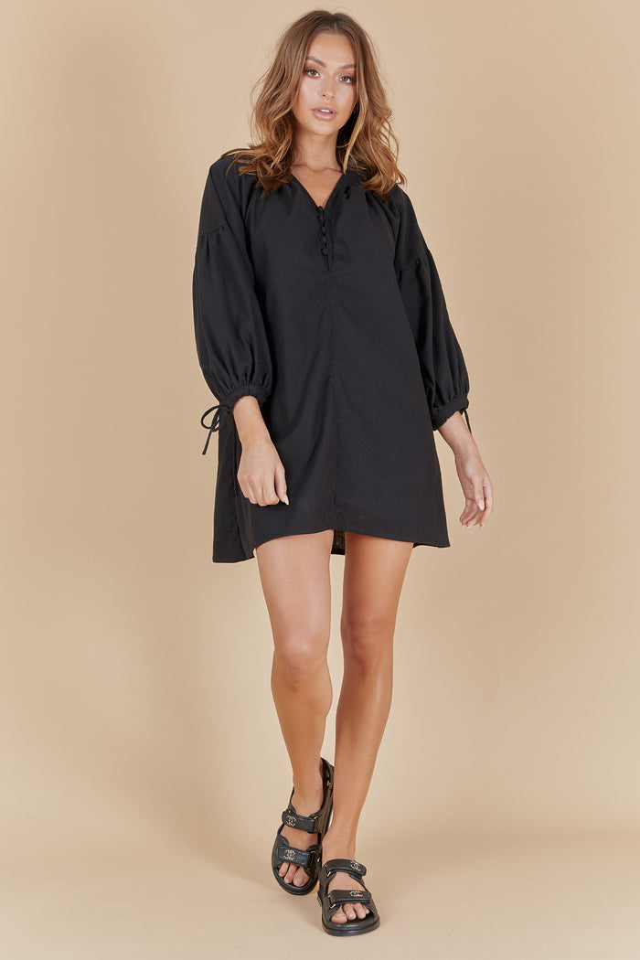 IVY DRESS - BLACK