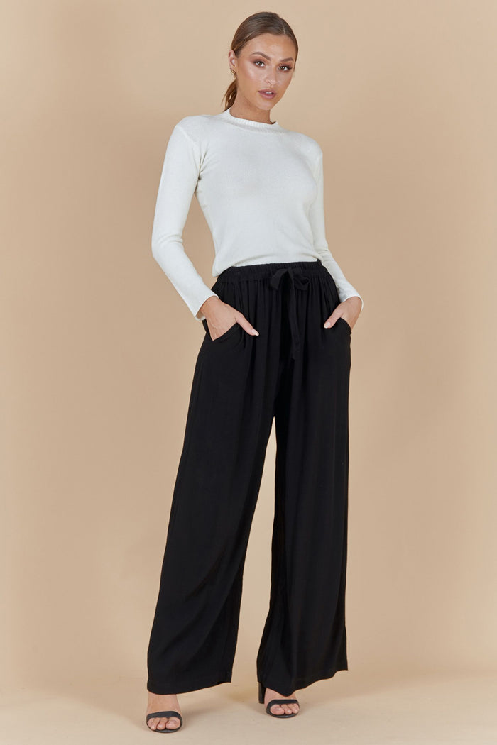 JUNE PANTS- BLACK
