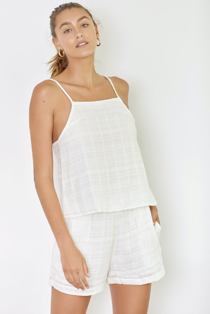 MADDISON TOP - OFF WHITE