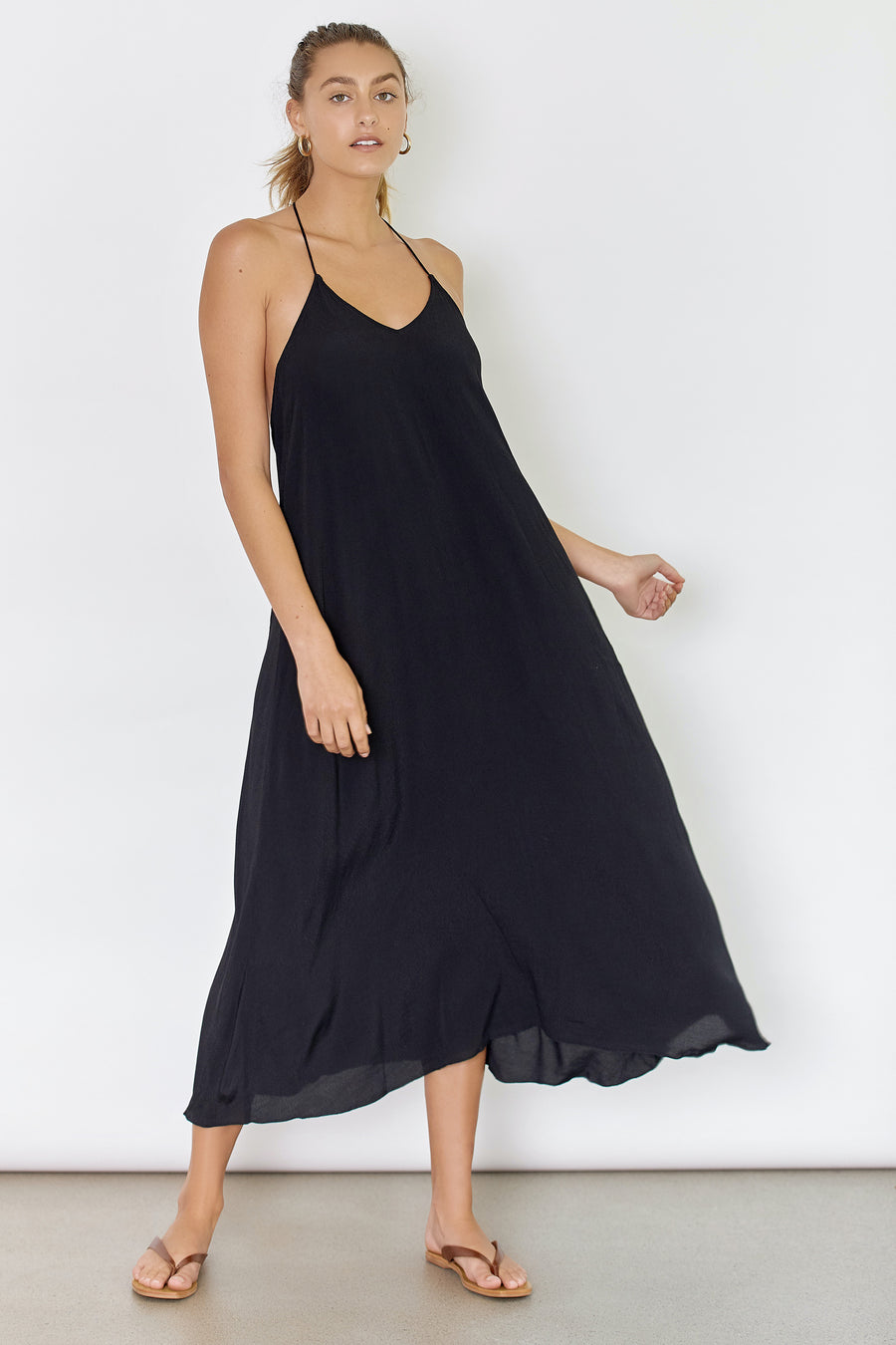 SUNSEEKER DRESS - BLACK