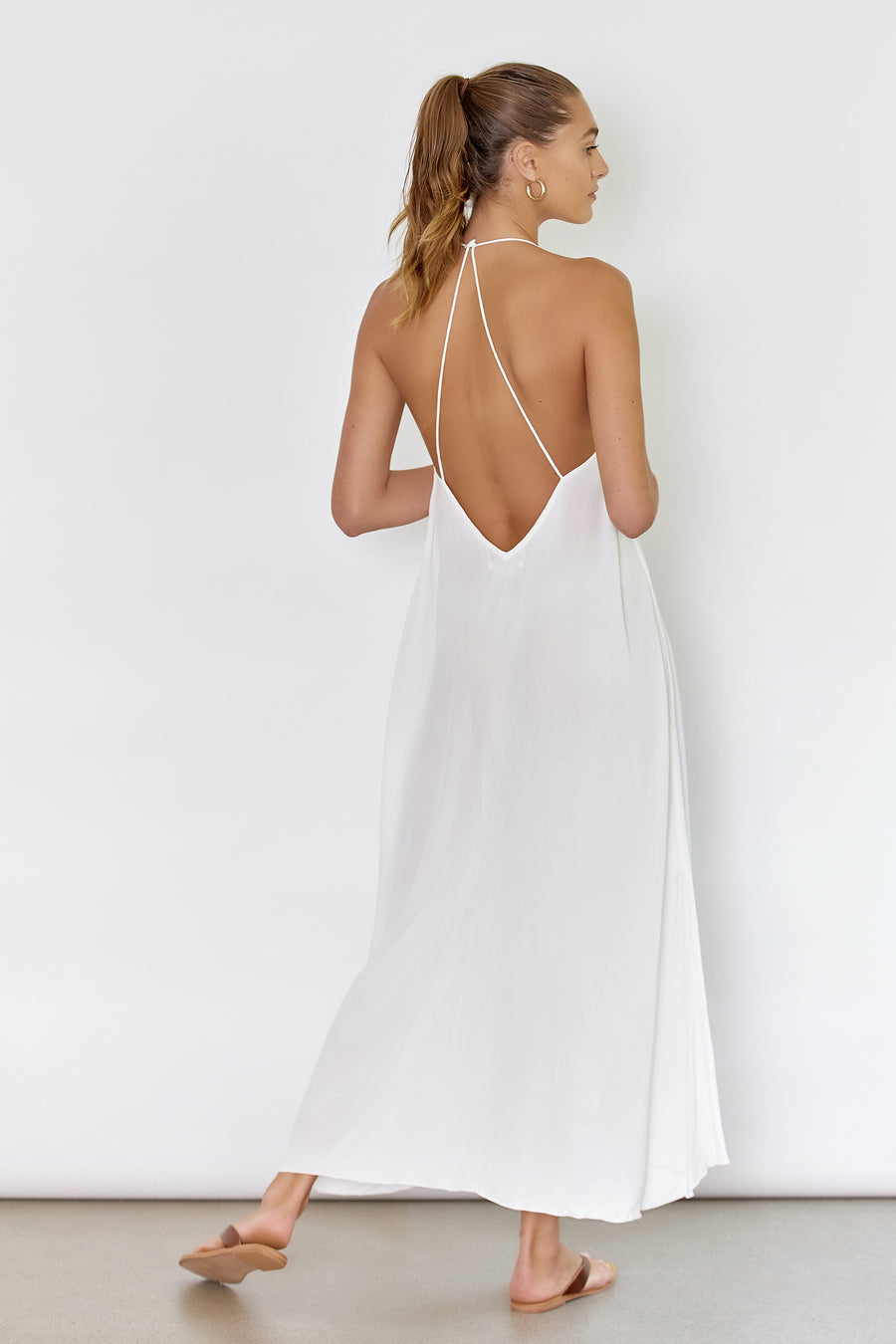 SUNSEEKER DRESS - OFF WHITE