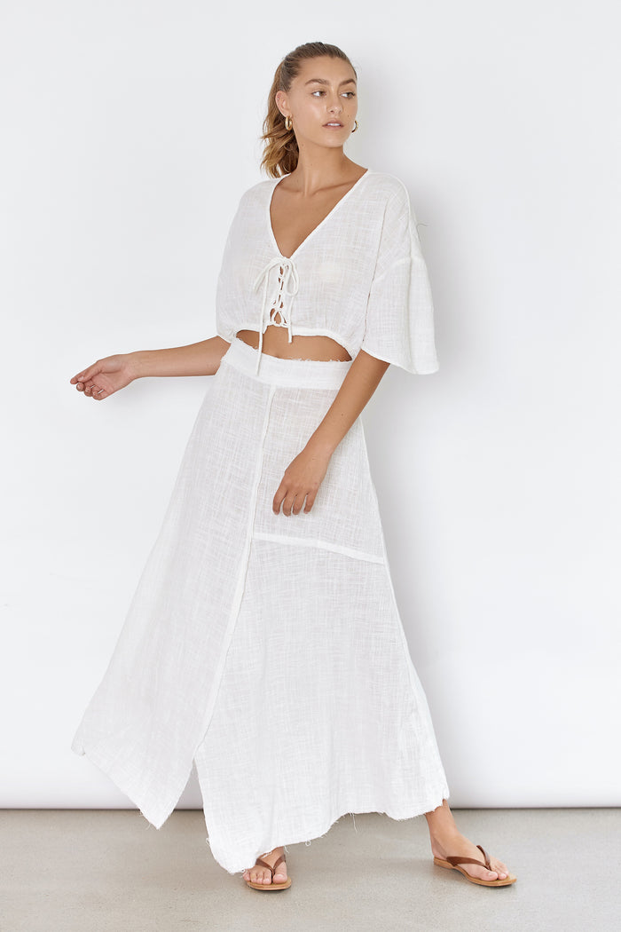JASMINE SKIRT - OFF WHITE