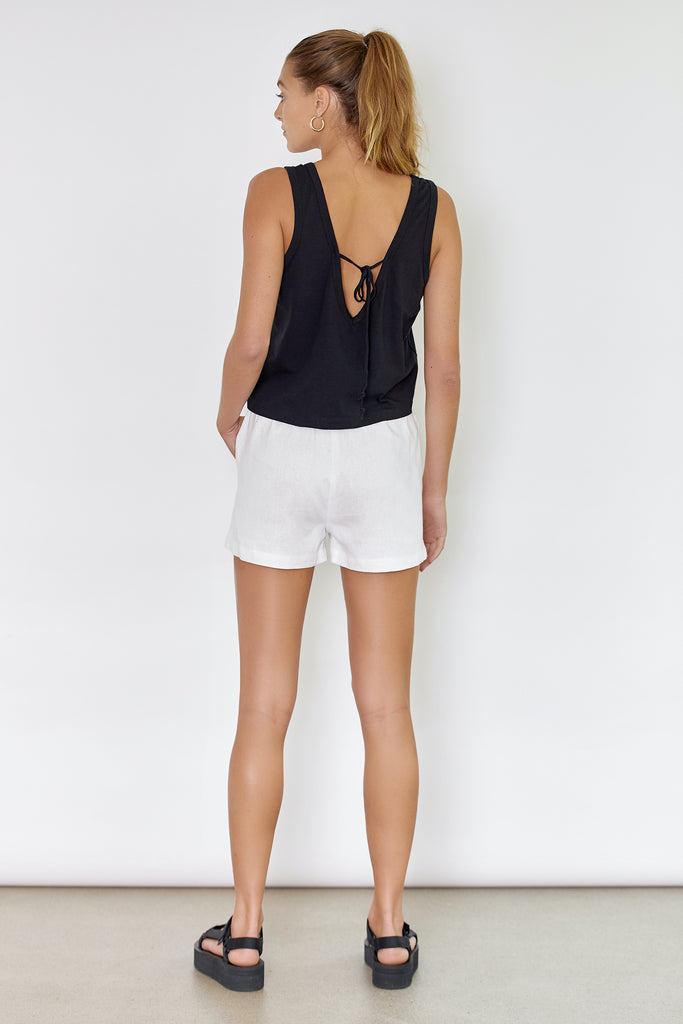 DRIFTER TANK - BLACK (ORGANIC COTTON )
