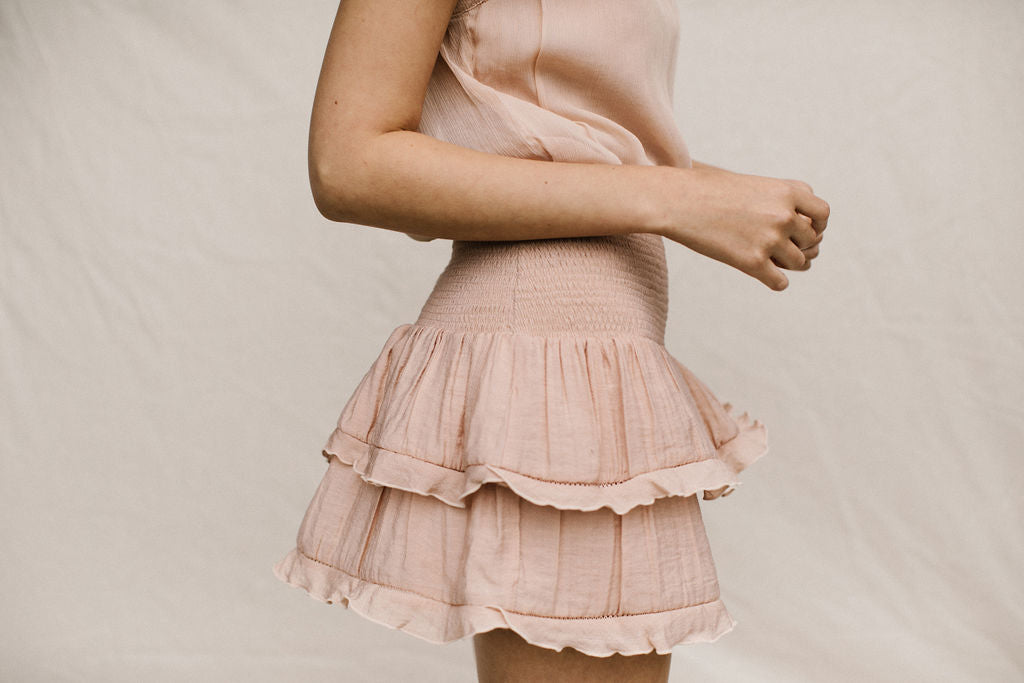 MARGOT SKIRT - PEACH