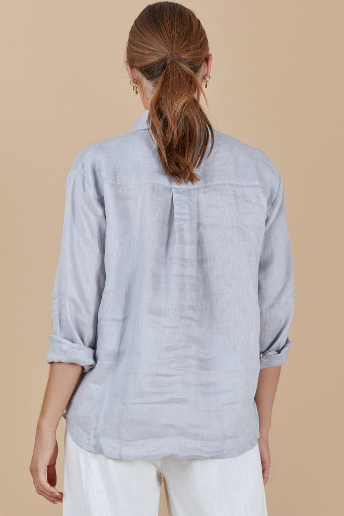 MALLOW SHIRT - BLUE PEARL