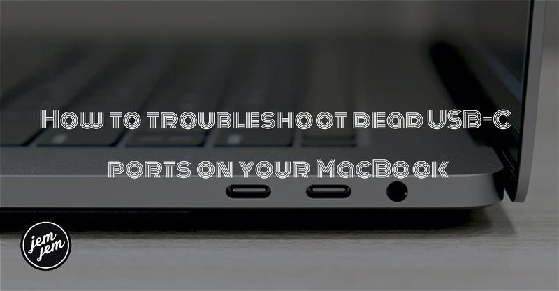 How to troubleshoot dead USB-C ports on your MacBook.