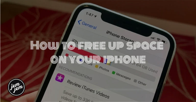 How to free up space on your iphone