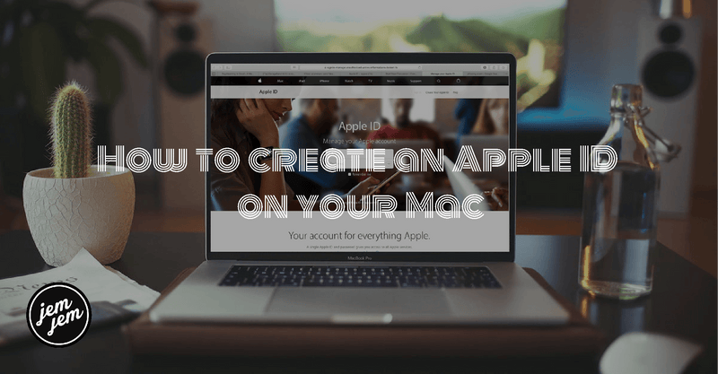 How to create an Apple ID on your Mac