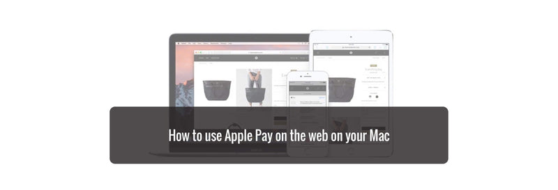 How to use Apple Pay on the web on your Mac