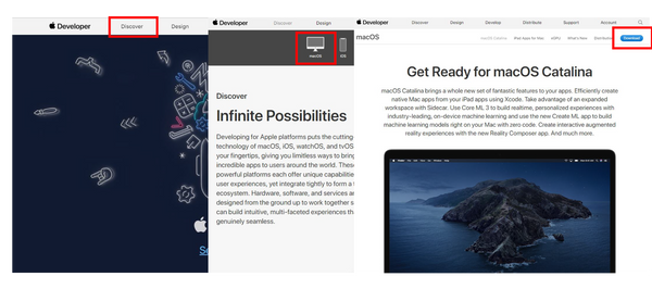 How to download and install macOS Catalina developer beta 4