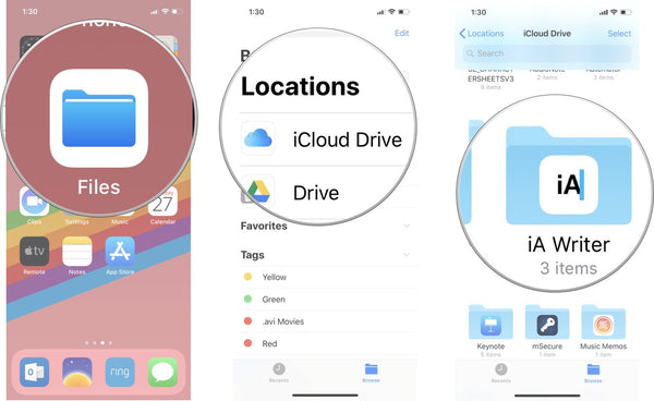 How to copy iCloud Drive files on your Mac — JemJem