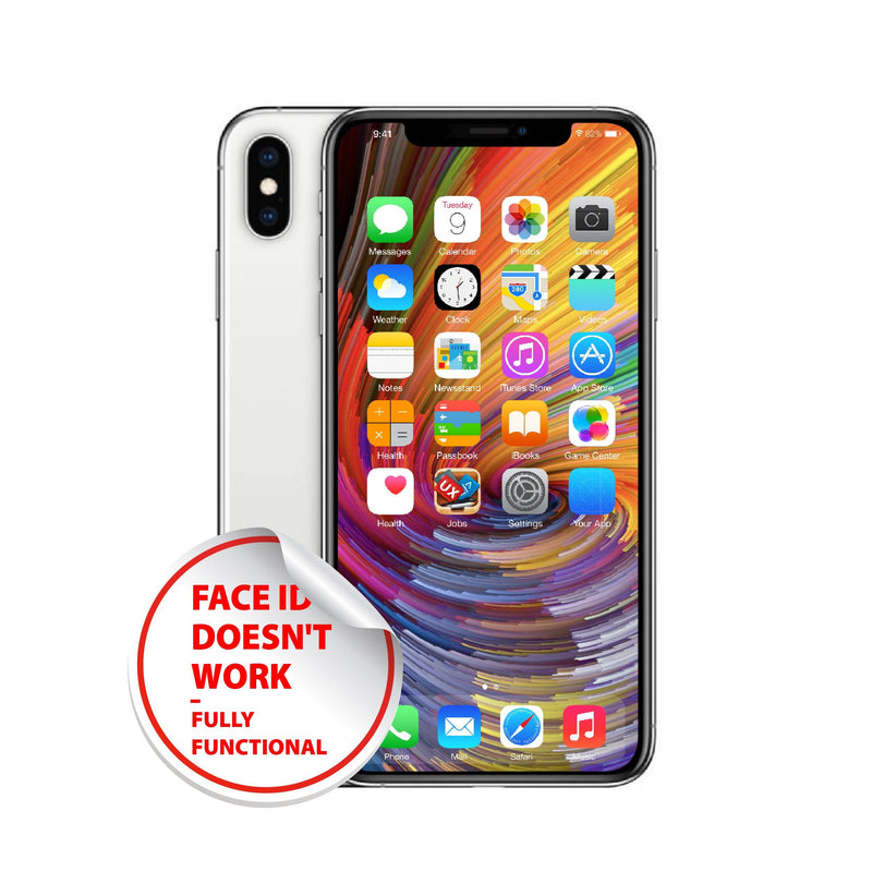 Apple iPhone X 64GB/256GB/512GB unlocked - No face ID- Acceptable condition_