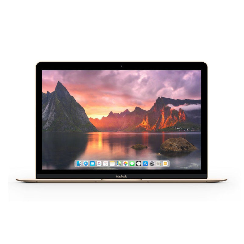 Apple MacBook 12 Inch Retina (2017)  Gold -MNYK2LL/A