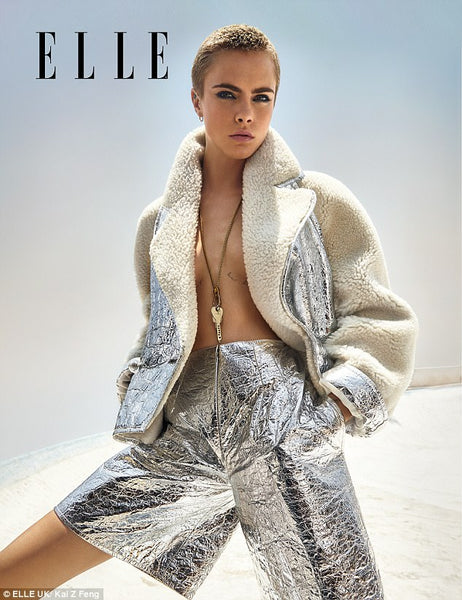 Cara Delevingne SLAYS her Elle Photo Shoot!