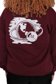 Space Man Crew Neck Sweater