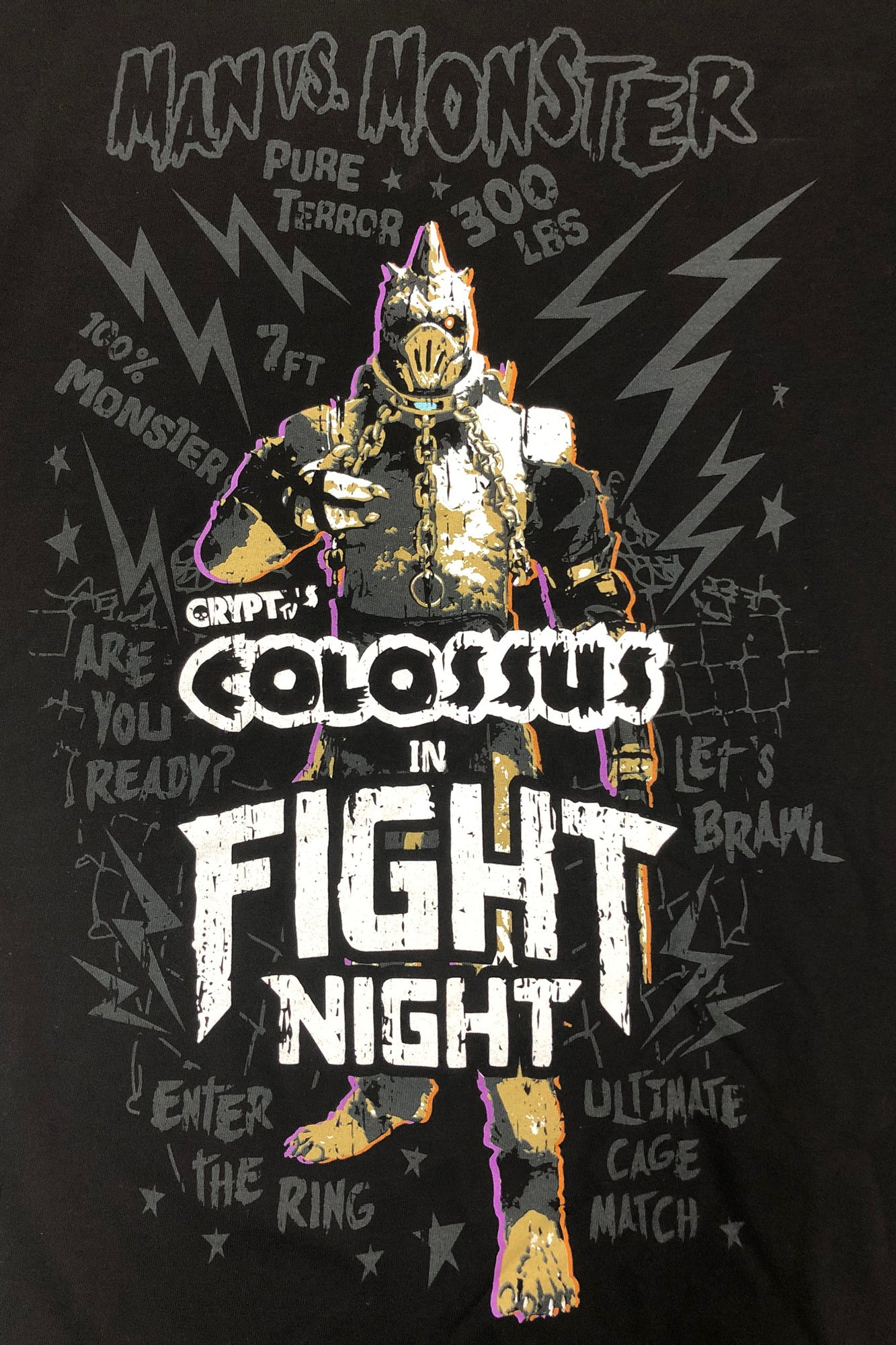 Colossus Fight Night Tee