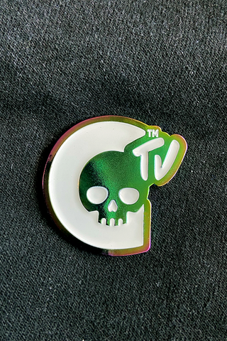 Rainbow Railroad & CTV Enamel Pin