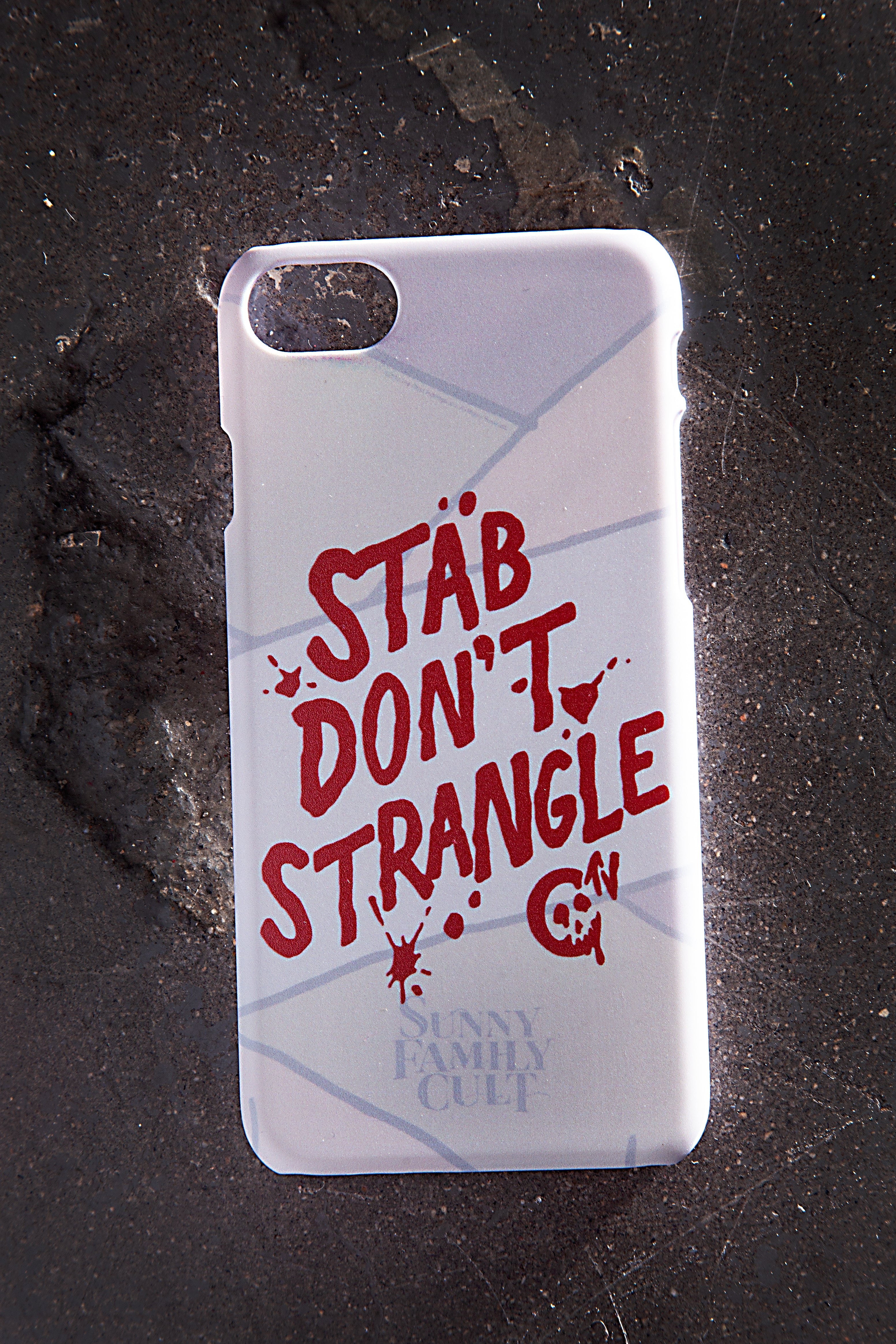 Stab Don't Strangle iPhone 7 & 7+ Case