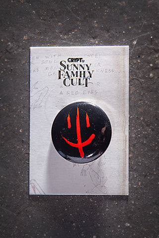 Sunny Family Cult Button